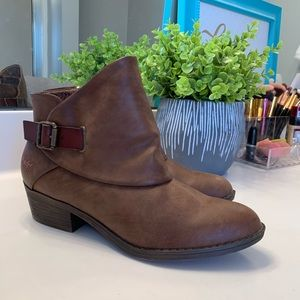 BRAND NEW Blowfish Brown Ankle Boots